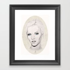 Portrait 2 Framed Art Print
