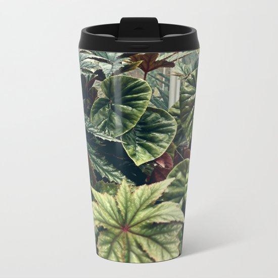 Beautiful Begonias Metal Travel Mug