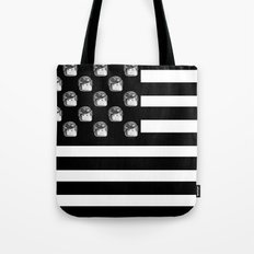 US Minifigure Flag - Horizontal Tote Bag