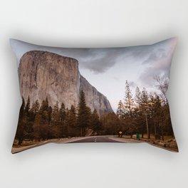 El Capitan Sunset Rectangular Pillow