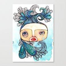 Watergirl Canvas Print