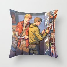 William and Theodore 23 Throw Pillow