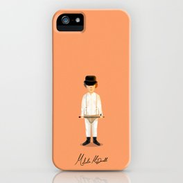 Malcolm McDowell - Clockwork iPhone Case