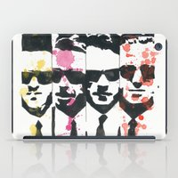 """tarantino iPad Cases featuring """"The Dogs"""", ink and watercolor. by DJayK"""