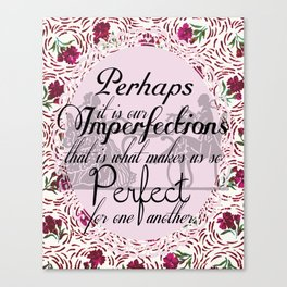Imperfections Canvas Print