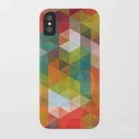 transparent iPhone & iPod Cases featuring Transparent Cubism by All Is One