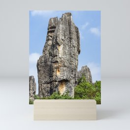 Shilin Stone Forest - Yunnan, China Mini Art Print