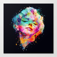 Marilyn portrait Canvas Print