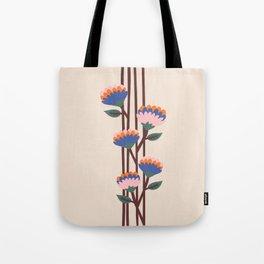 Henri Flowers Tote Bag