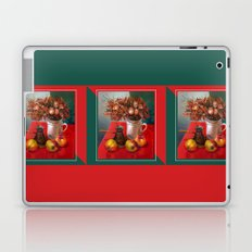 Apples and dry roses Laptop & iPad Skin