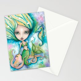 Mermaid Connection Stationery Cards