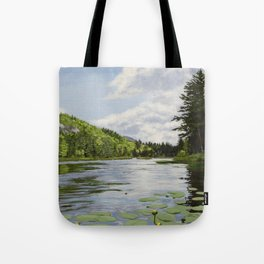 Secret Adirondack Pond Tote Bag