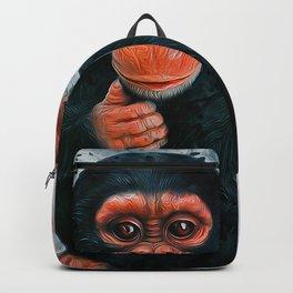 Baby Chimpanzee Backpack