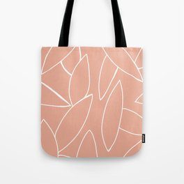 abstract tropical leaves Tote Bag