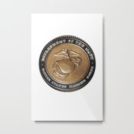 United States Marine Corps Metal Print