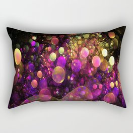 Galaxy Bubbles Rectangular Pillow