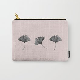 Ginkgo Leaves Trio Carry-All Pouch