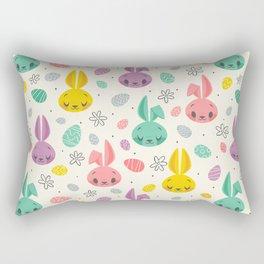 Easter Bunnies Rectangular Pillow