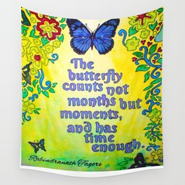 Tagore Butterfly Wall Tapestry
