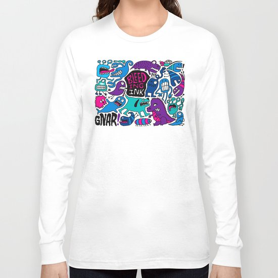 More Monsters Long Sleeve T-shirt