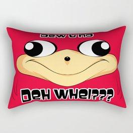 Ugandan Knuckles Rectangular Pillow