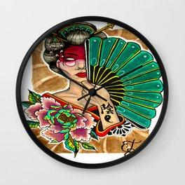 Yin Wall Clock