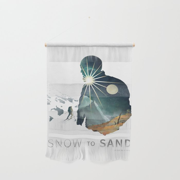 """""""Snow To Sand"""" Official One-Sheet Poster Wall Hanging"""