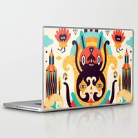 key Laptop & iPad Skins featuring The Secret Key by Muxxi