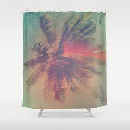 NEON SUMMER Shower Curtain