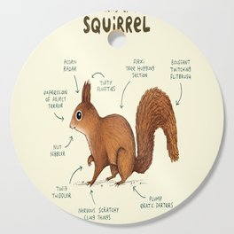 Anatomy of a Squirrel Cutting Board
