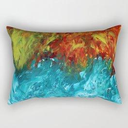 Conflict Arises Rectangular Pillow