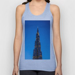 Burj Khalifa Unisex Tank Top