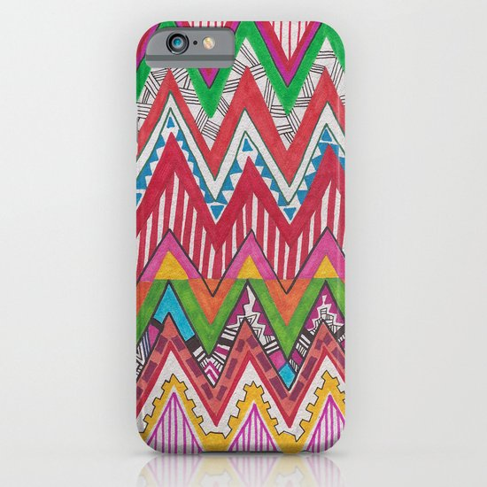 Peruvian Waves iPhone & iPod Case