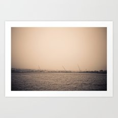 I Can Barely See You #2 Art Print