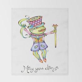 May You Dance Throw Blanket