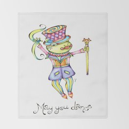 May You Dance Throw Blanket