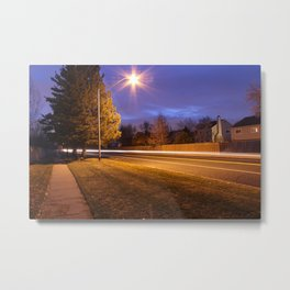 Light Photography. Metal Print