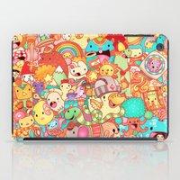 kpop iPad Cases featuring Wackoblast! by Sillyrabs