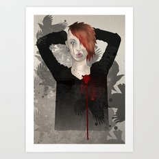 broken hearted mark2 Art Print