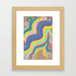 slither Framed Art Print