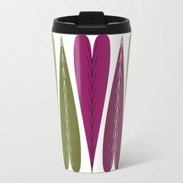 Grape Hearts Travel Mug