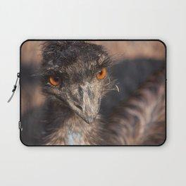 Emu close-up Laptop Sleeve