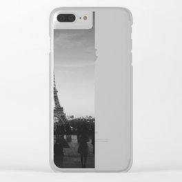 Eiffel Tower (Paris, France) Clear iPhone Case