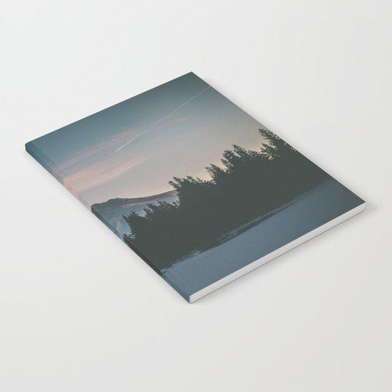 Frozen Mirror Lake Notebook