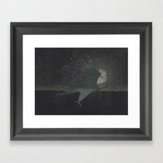 From chaos, comes order Framed Art Print