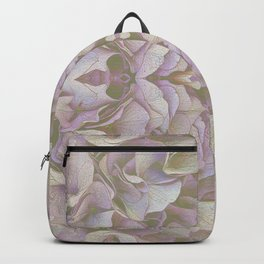 FADED HYDRANGEA CLOSE UP Backpack