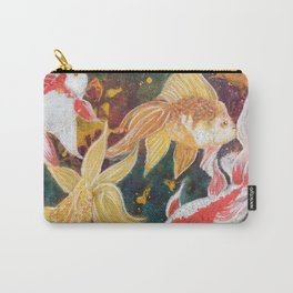 Wild Goldfish Dreams Carry-All Pouch