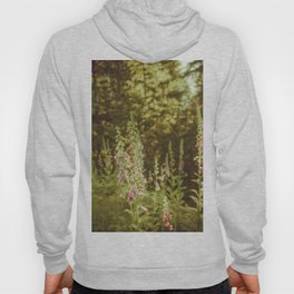 A New Day II Wildflowers at Dawn - Nature Photography Hoody