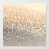 monika strigel Canvas Prints featuring  GOLD by Monika Strigel