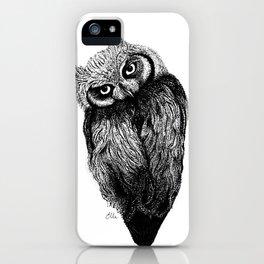 Scops Owl  iPhone Case